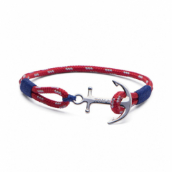 Bracelet TOM HOPE ARCTIC BLUE S ARGENT 925/1000 et Cordon