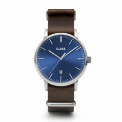Montre Homme Cluse Aravis nato leather