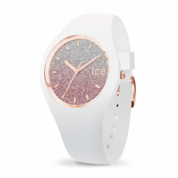 Montre femme ICE WATCH LO white / pink - M
