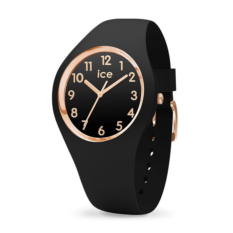 Montre femme ICE WATCH GLAM black / rose gold - S