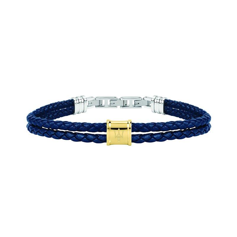 Bracelet Homme MASERATI Acier et Cuir