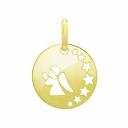 Médaille Enfant Ange OR 750/1000 Jaune