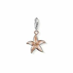 Charms Femme étoile de mer THOMAS SABO ARGENT 925/1000 Doré Rose