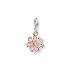 Charms Femme Fleur THOMAS SABO ARGENT 925/1000 Doré Rose et Oxyde