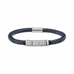 Bracelet Homme TOMMY HILFIGER Cuir Tressé Bleu