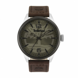Montre Homme TIMBERLAND Ackley Cuir Brun