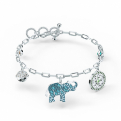 Bracelet Femme SWAROVSKI SYMBOLIC ELEPHANT Métal Rhodié et Cristaux