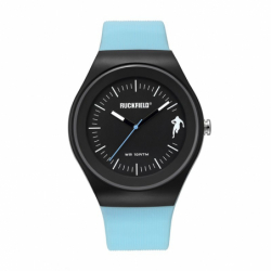 Montre Homme Ruckfield Silicone Bleu