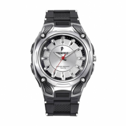 Montre Homme Ruckfield Silicone Noir