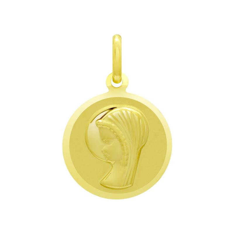Médaille Vierge OR 375/1000 Jaune