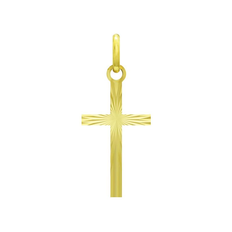 Médaille Croix OR 375/1000 Jaune