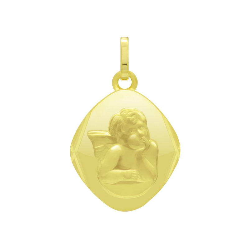 Médaille Ange OR 375/1000 Jaune