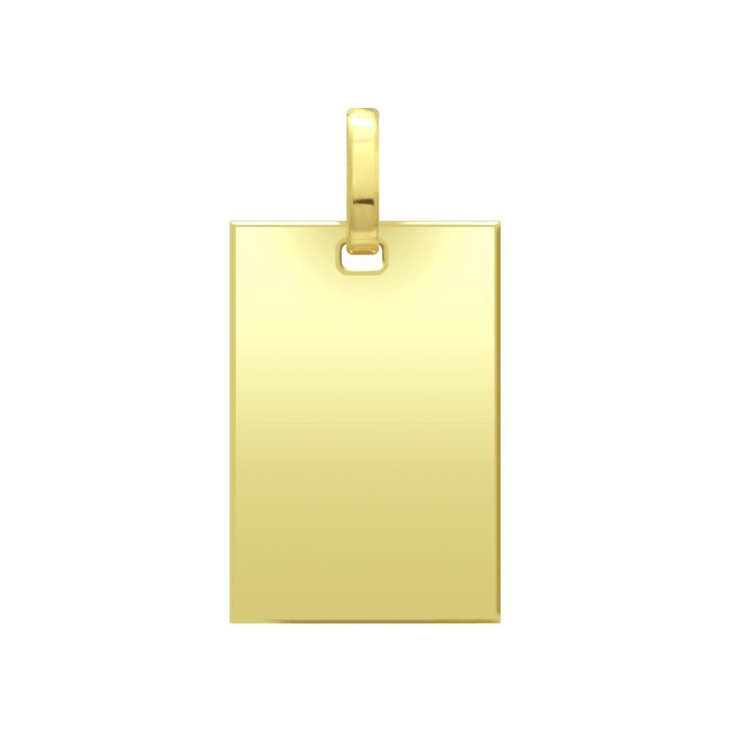 Médaille Plaque OR 750/1000 Jaune