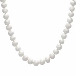 Collier Femme Rang Simple OR 750/1000 Jaune et Perles