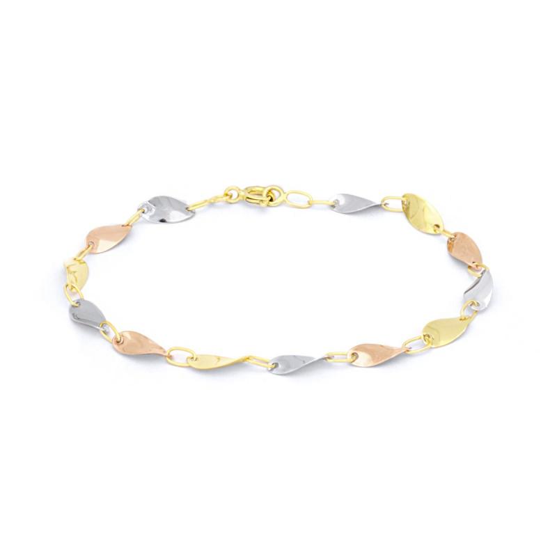 Bracelet Femme Chaîne 3 ORS 750/1000 fantaisie