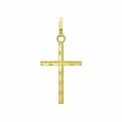 Médaille Croix OR 750/1000 Jaune