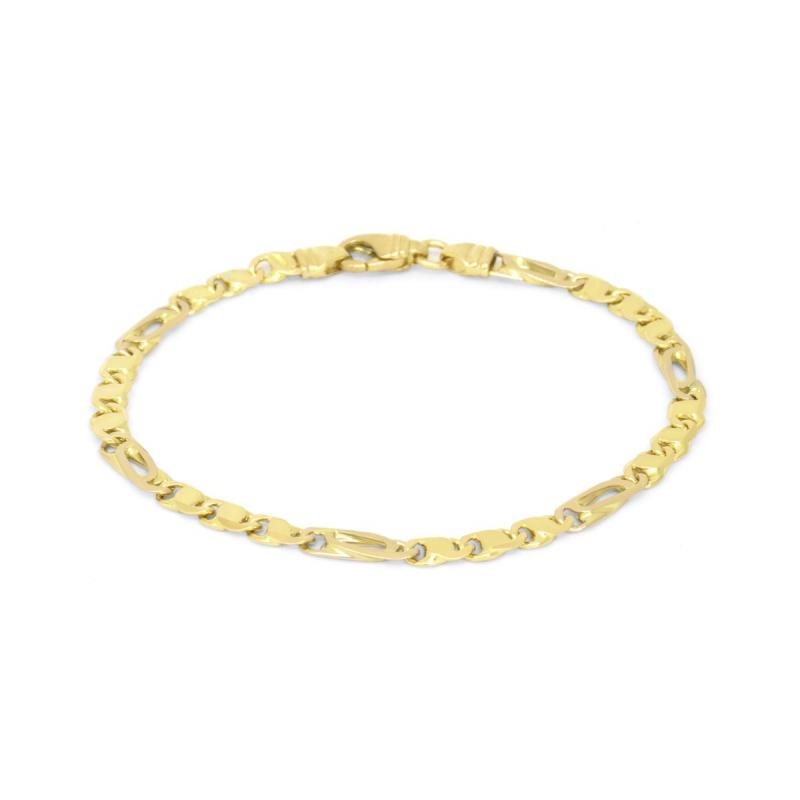 Bracelet Femme EDORA OR 750/1000 Fantaisie Bicolore
