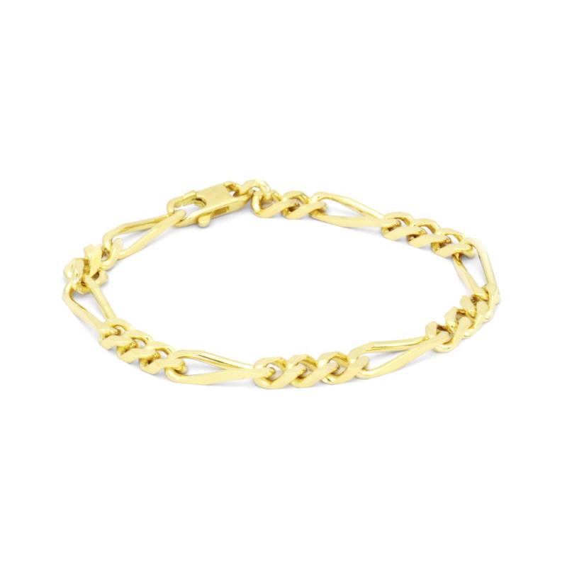 Bracelet Femme EDORA OR 750/1000 Figaro