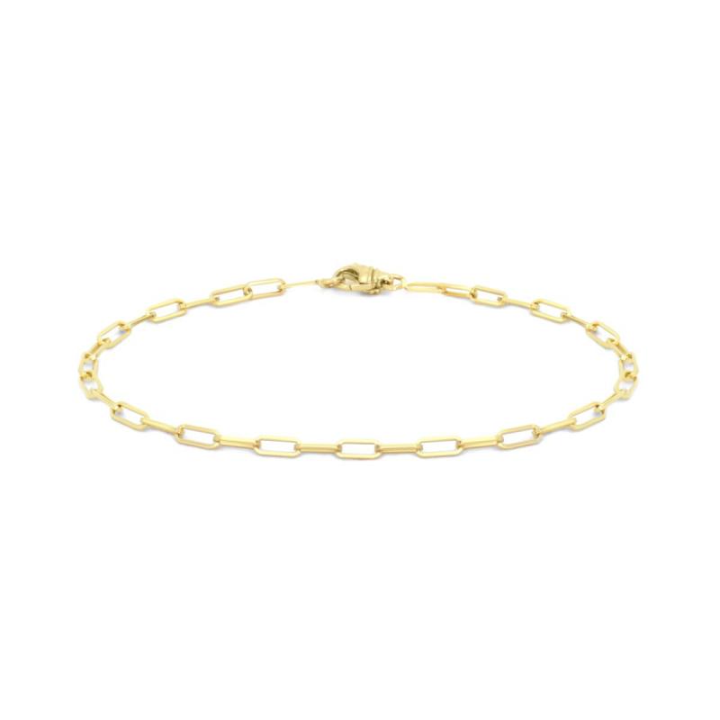 Bracelet Mixte Chaîne OR 750/1000 fil carré