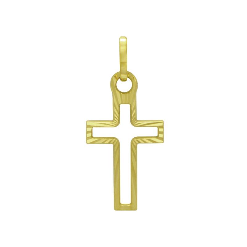 Médaille Croix Ajourée OR 750/1000 Jaune
