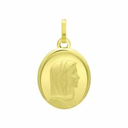 Médaille Vierge OR 750/1000 Jaune