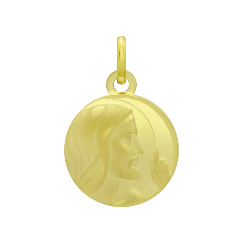 Médaille Christ OR 750/1000 Jaune