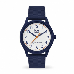 Montre Solaire ICE WATCH Blue Mesh Silicone Bleu