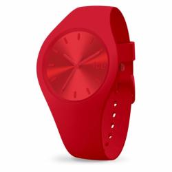 Montre ICE WATCH Medium colour Silicone Rouge