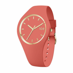 Montre Femme GLAM ICE WATCH Small Silicone Corail