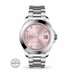 Montre femme ICE WATCH STEEL silver / light pink