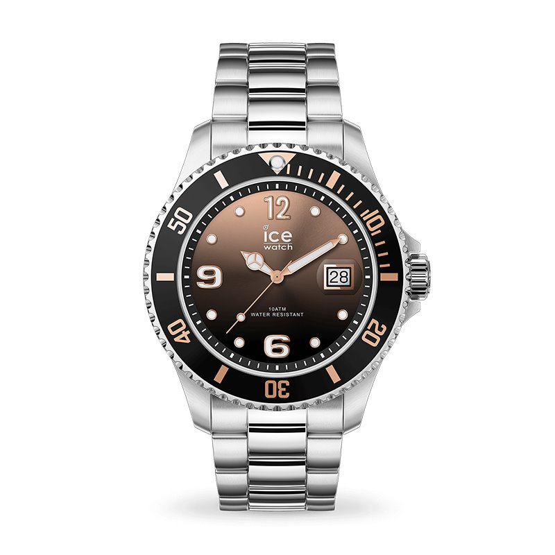 Montre homme ICE WATCH STEEL sunset silver