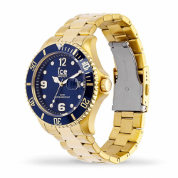 Montre homme ICE WATCH STEEL gold / blue - L