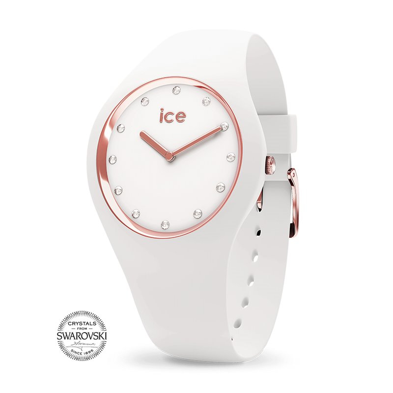 Montre femme ICE WATCH COSMOS white / rose gold - S