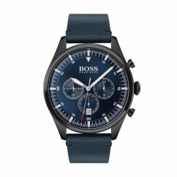 Montre Homme HUGO BOSS Chronographe Cuir Bleu
