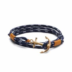 Bracelet TOM HOPE 24K XS Laiton et Cordon