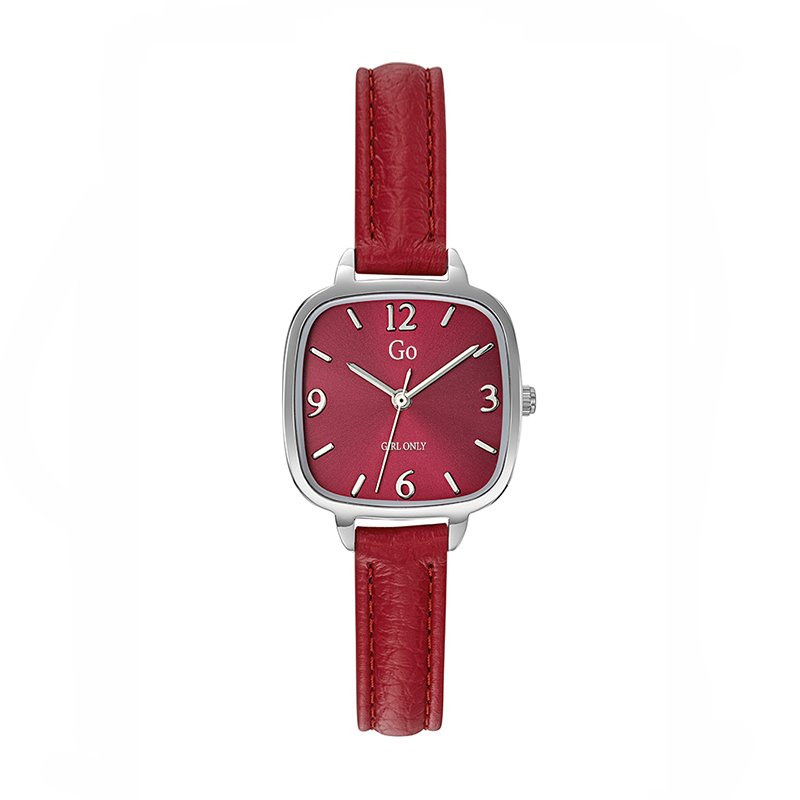 Montre femme GIRL ONLY Cuir Rouge