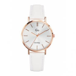 Montre femme Girl Only cuir blanc