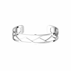 Bracelet Femme Manchette TRESSE Les Georgettes Les Essentielles Argenté
