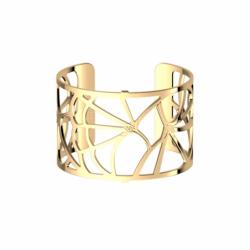 Bracelet Femme Manchette Fleur Du Nil Les Georgettes Les Essentielles Doré
