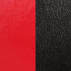 Cuir Pour Manchette Les Georgettes Rouge Vernis et Noir