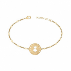Bracelet Petite Fille PLAQUE OR jaune