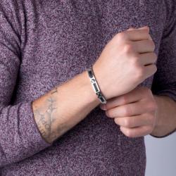 Bracelet Homme Acier Phebus et câble