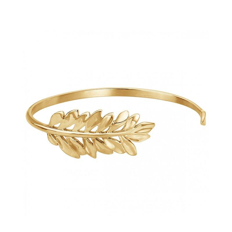 Bracelet femme Jonc PHEBUS acier doré