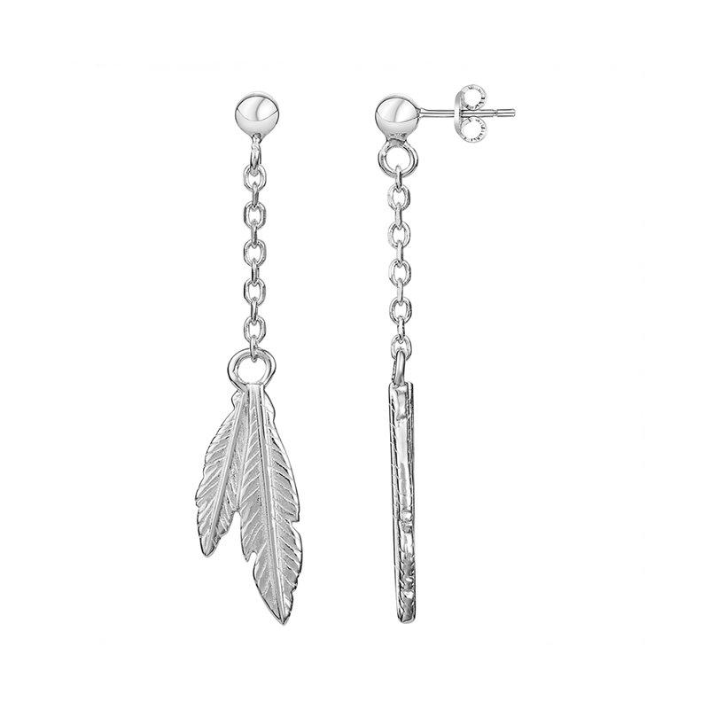 Boucles d'oreilles Femme Pendantes ARGENT 925/1000