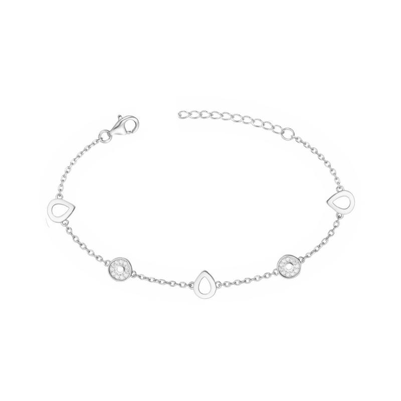 Bracelet Femme Empierré ARGENT 925/1000 et Oxydes