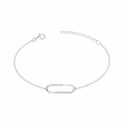 Bracelet Femme ARGENT 925/1000 et Oxydes
