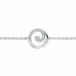 Bracelet Femme Spirales EDORA ARGENT 925/1000 et Oxydes