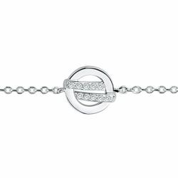 Bracelet Femme Cercles EDORA ARGENT 925/1000 et Oxydes