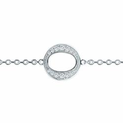 Bracelet Femme Cercles ARGENT 925/1000 et Oxydes