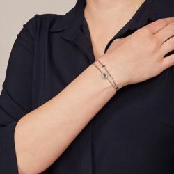 Bracelet Femme Fossil CLASSICS nacré